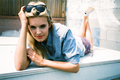 Maggie Grace Nylon Guys Magazine Photoshoot JULY 2010