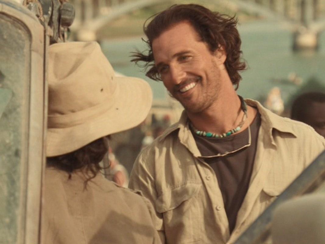 "Matthew McConaughey in ""Sahara"""