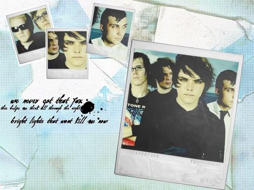 My Chemical Romance wallpaper titled McR