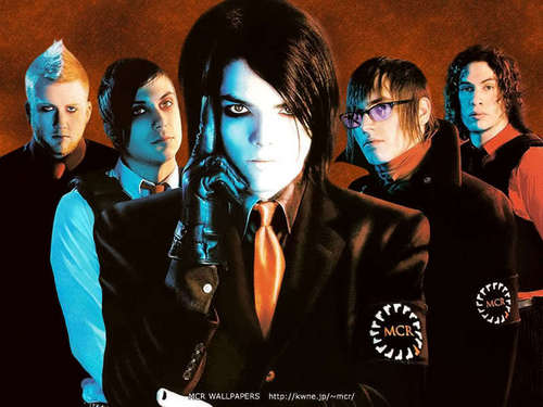 My Chemical Romance wallpaper called McR