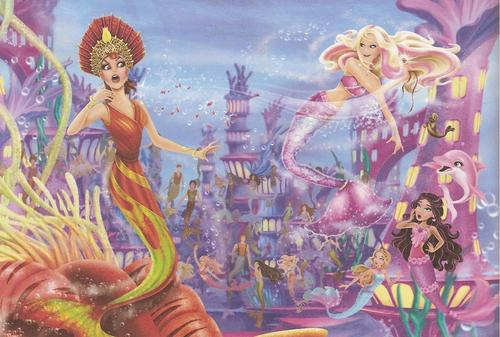 barbie in mermaid tale wallpaper titled Mermaid Tale