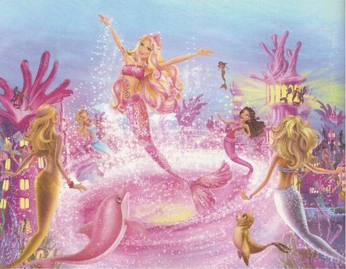 barbie in mermaid tale wallpaper called Mermaid Tale