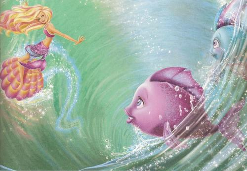 barbie in mermaid tale wallpaper called Mermaid Tale