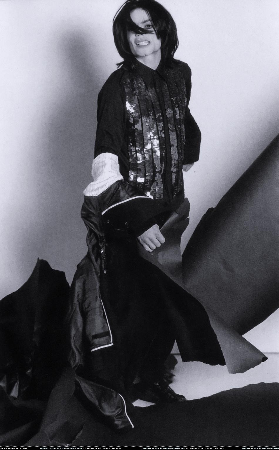 "Michael  Jackson - ""L'uomo Vogue"" October 2007"