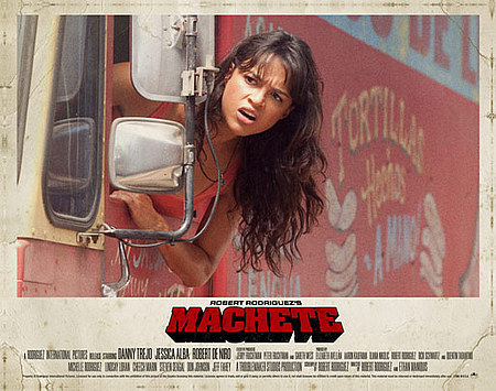 Michelle in Machete