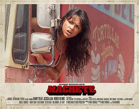 Michelle in Machete