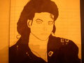 My Mj bad era Drawing - michael-jackson photo