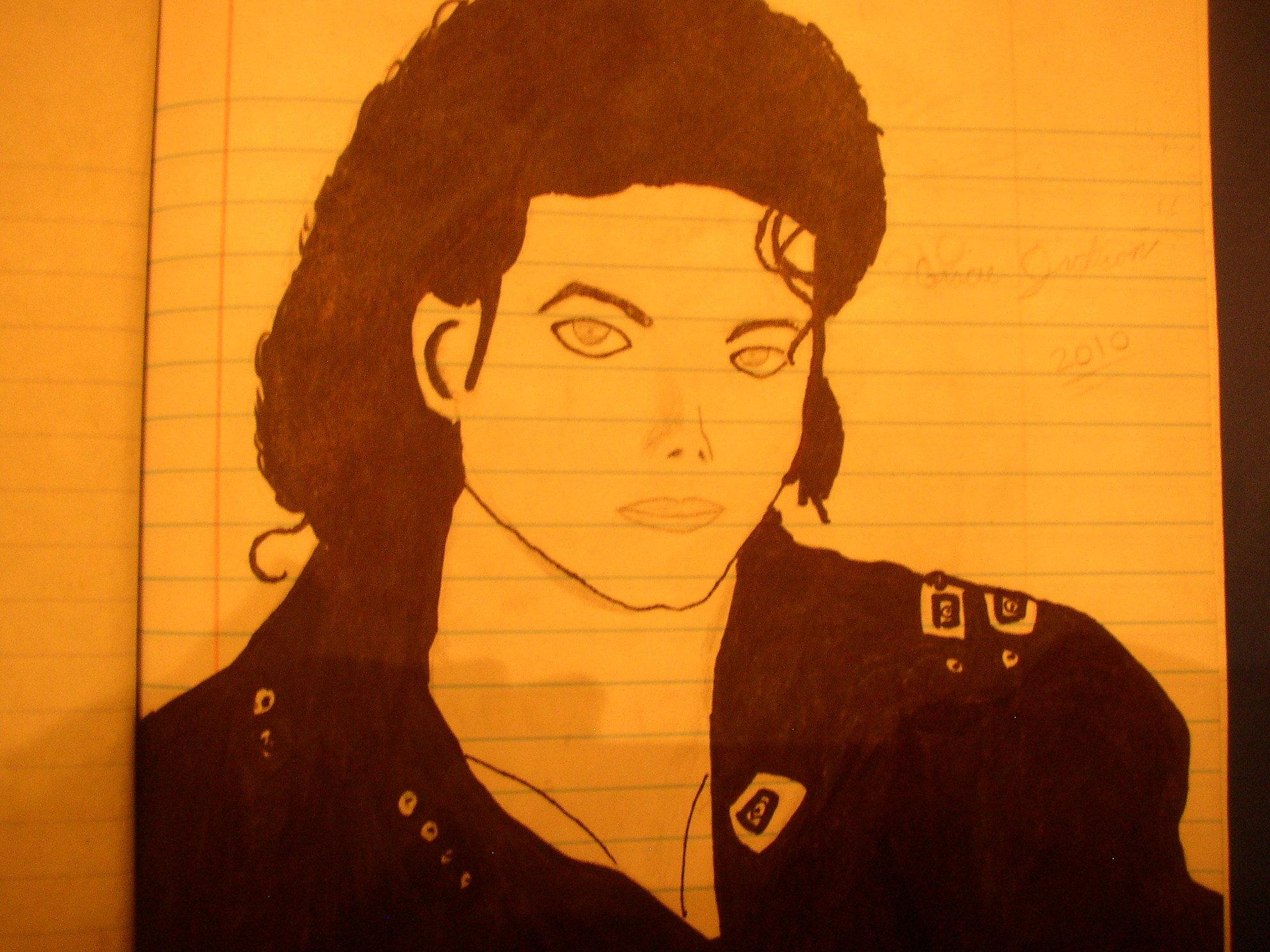 My Mj bad era Drawing
