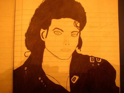 Michael Jackson wallpaper called My Mj bad era Drawing