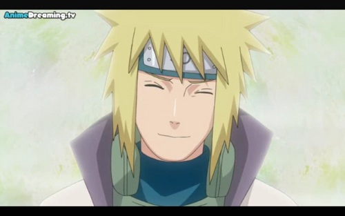 Naruto's Father *Kawaii*