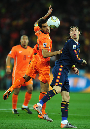 FIFA World Cup South Africa 2010 Hintergrund titled Netherlands v Spain: 2010 FIFA World Cup Final