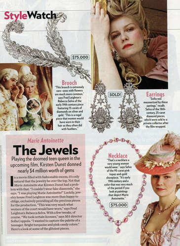 People magazine - marie-antoinette Photo