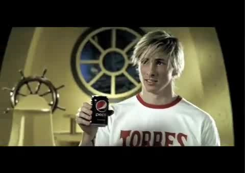 Fernando Torres wallpaper called Pepsi/'Pesi' Commercial