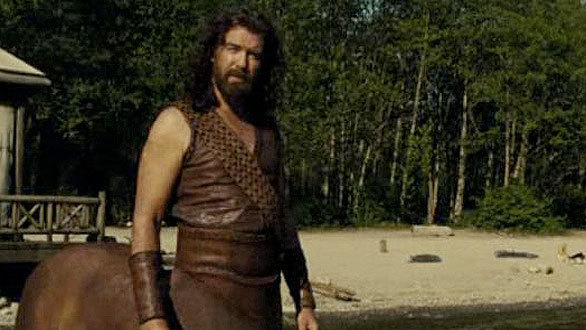 Pierce Brosnan Chiron in Percy Jackson