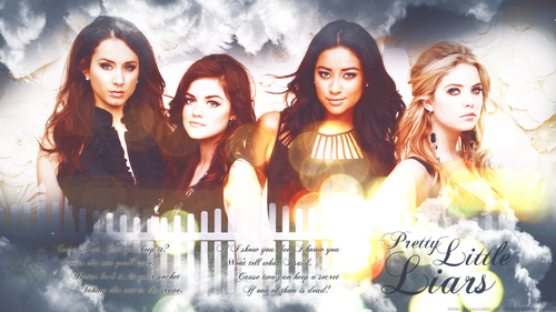 Pretty Little Liars TV دکھائیں پیپر وال entitled Pretty Little Liars