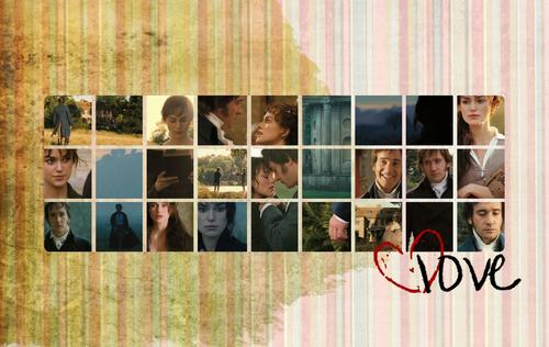 Pride and Prejudice wallpaper titled Pride and Prejudice - Rustic Icon Love - Wallpaper