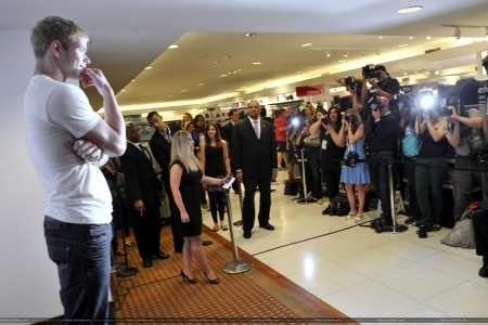 Promoting Calvin Klein X Underwear at Macy's - 15 May 2010