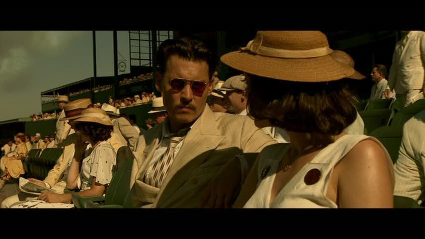 Amazoncom Public Enemies Bluray Johnny Depp