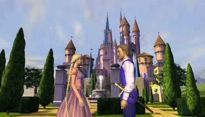 Rapunzel and Stefan