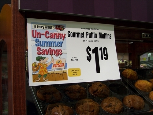 "Real-Life ""Puffin Muffins"" at the Supermarket?"