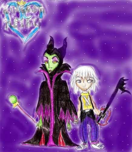 Riku and Maleficent