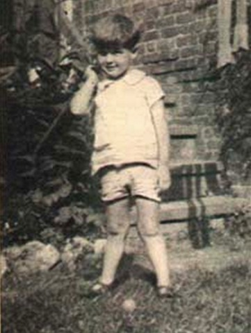 Roger Moore As A Child