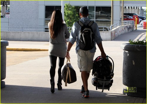 Sandra Bullock: New Orleans with Son Louis!