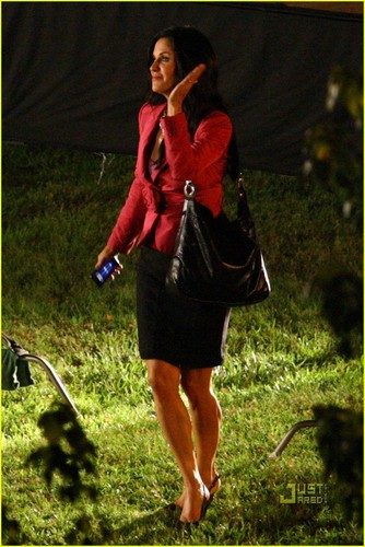 Scream 4 set foto