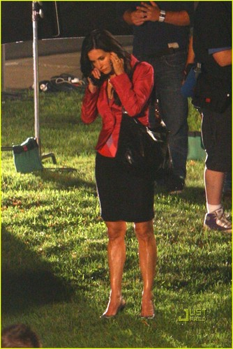 Scream 4 set фото