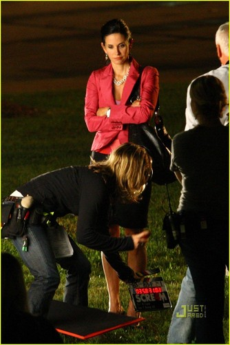 Scream 4 set fotografias