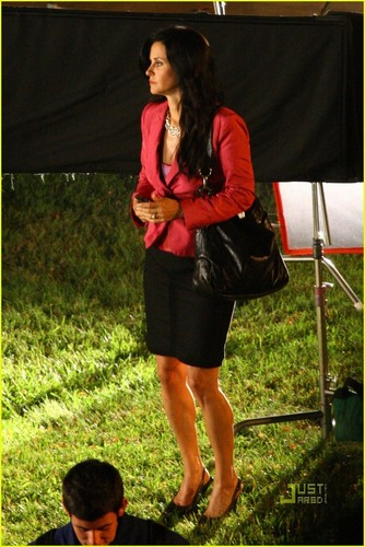Scream 4 set foto's