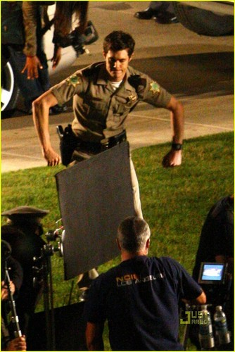 Scream 4 set Fotos
