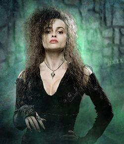 bellatrix lestrange wallpaper titled Sexy Witch