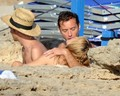 Sienna Miller and Jude Law on holiday in Ponza (July 15) - celebrity-couples photo
