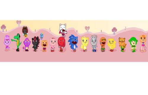 Sonic And Friends Happy Tree Friends Form - sonic-the-hedgehog Photo
