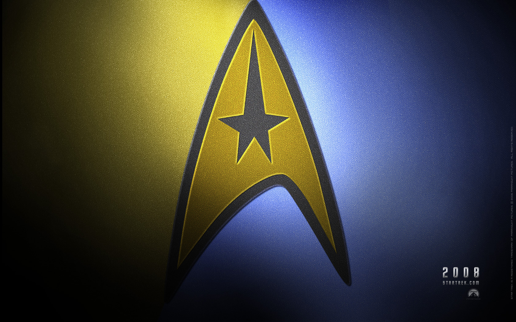 Star trek insignia wallpaper