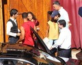 Tom Cruise with Will and Jada Smith at Saddle Ranch (July 12)