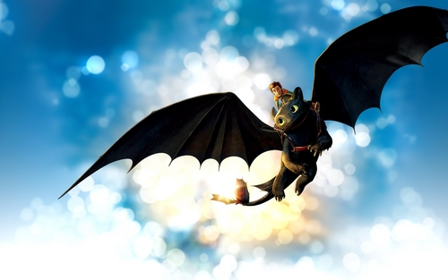 How to Train Your Dragon wallpaper entitled Toothless