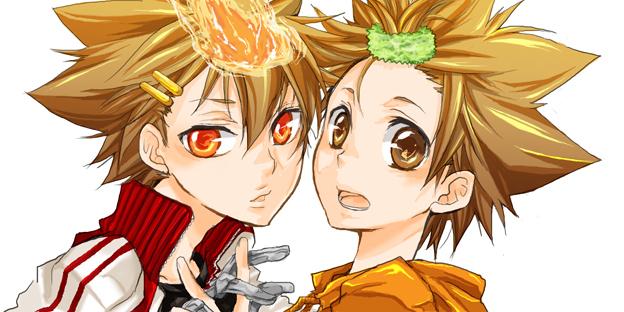 Tsuna And Tsuna Katekyo Hitman Reborn Photo 13877924 Fanpop