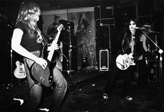 Vicki & Joan in 1977