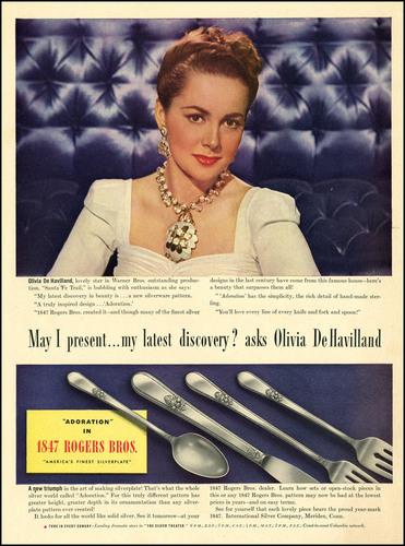 Vintage Ad: Olivia de havilland