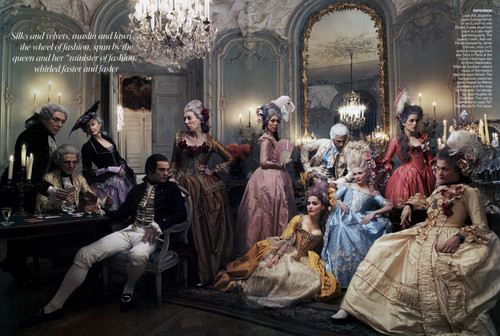 Vogue-  Sept 2006 - marie-antoinette Photo
