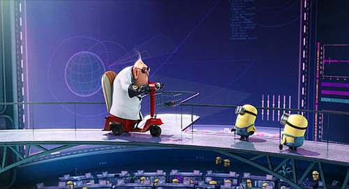 We have to warn him, and FAST! - despicable-me Screencap