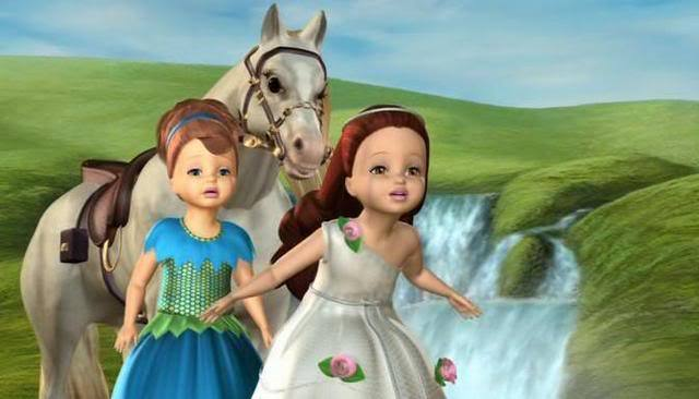 Worried Melody and Lorena - Barbie as Rapunzel Photo ...