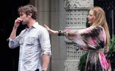 Yay! BLACE  ON SET JULY 14 ! - serena-and-nate Photo