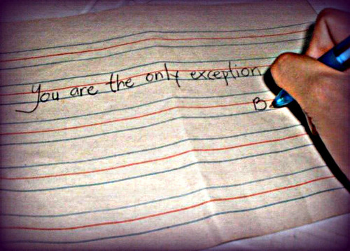 Ты are the only exception