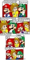 daisy and luigi and mario - princess-daisy photo