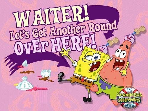 Spongebob Squarepants wallpaper entitled drunk