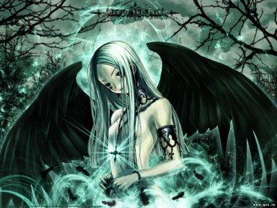 even darck angels are sad
