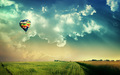 beautiful-places - hot air balloon wallpaper